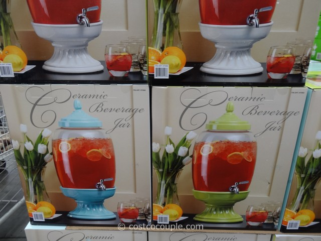 Ceramic Beverage Jar Costco 2