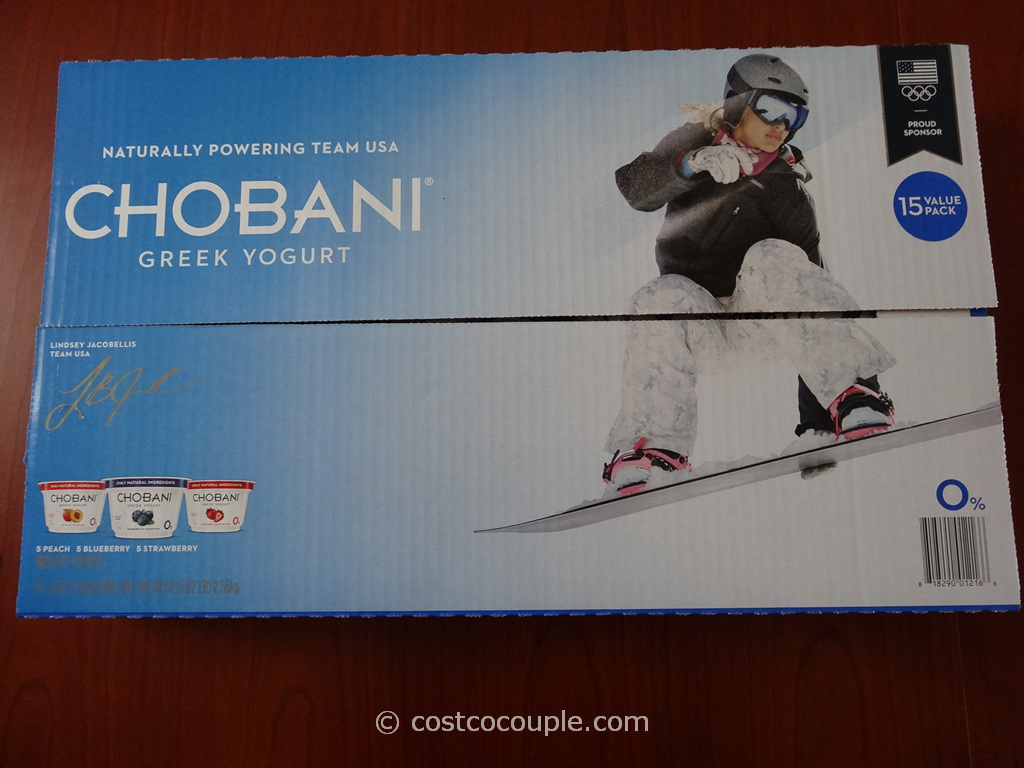 Chobani Greek Yogurt Costco 2