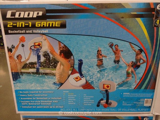 Coop 2-In-1 Pool Game Set Costco 2