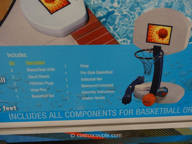 Coop 2-In-1 Pool Game Set Costco 4