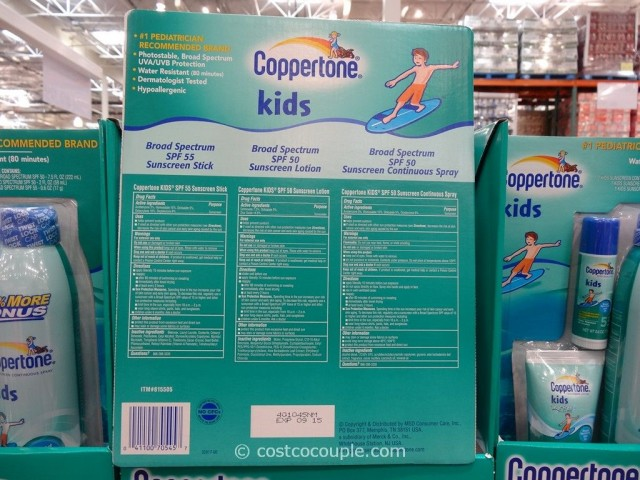 Coppertone Kids Spf50 Sunscreen