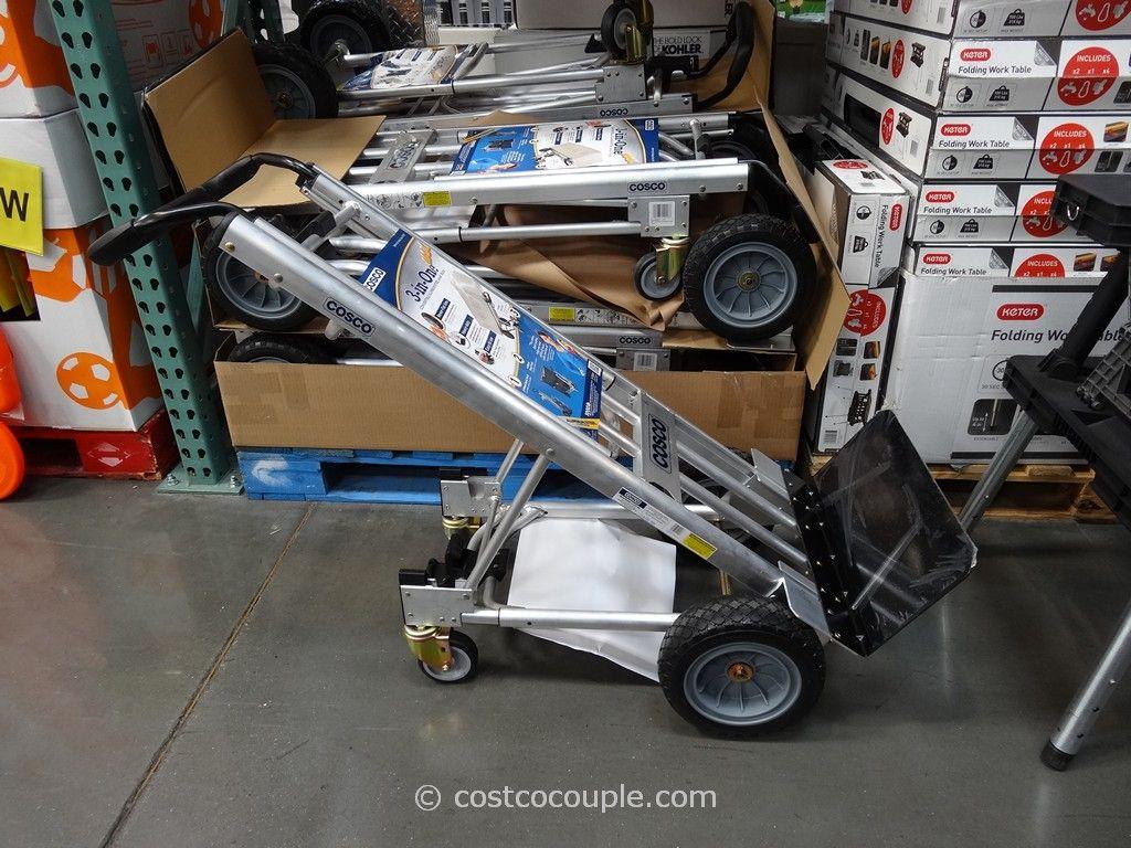 cosco hybrid convertible hand truck costco 2 - Convertible Hand Truck