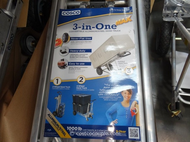 Cosco Hybrid Convertible Hand Truck Costco 3