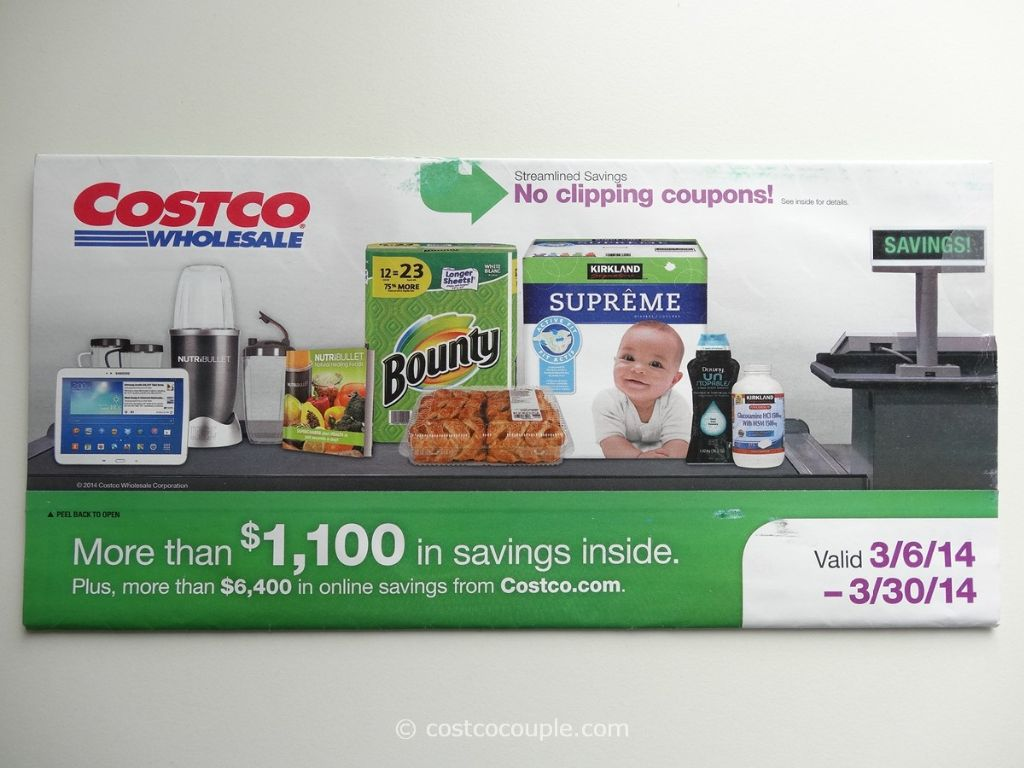 Costco March 2014 Coupon Book 1