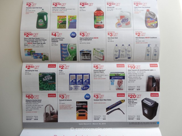 Costco March 2014 Coupon Book 6