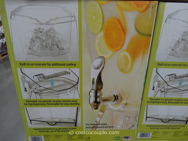 CreativeWare Acrylic Beverage Dispenser Costco 3