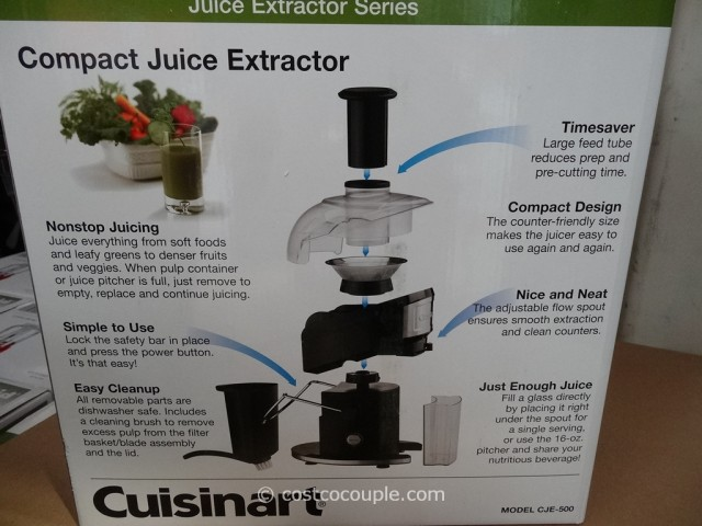 Cuisinart Compact Juice Extractor Costco 3