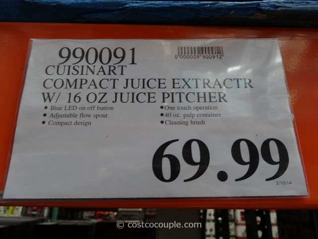 Cuisinart Compact Juice Extractor Costco 5