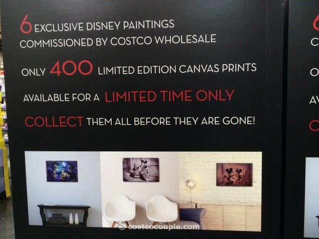 Disney Limited Edition Prints Costco 3