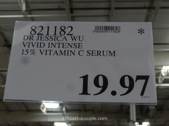 Dr Jessica Wu Vivid Intense Vitamin C Serum Costco