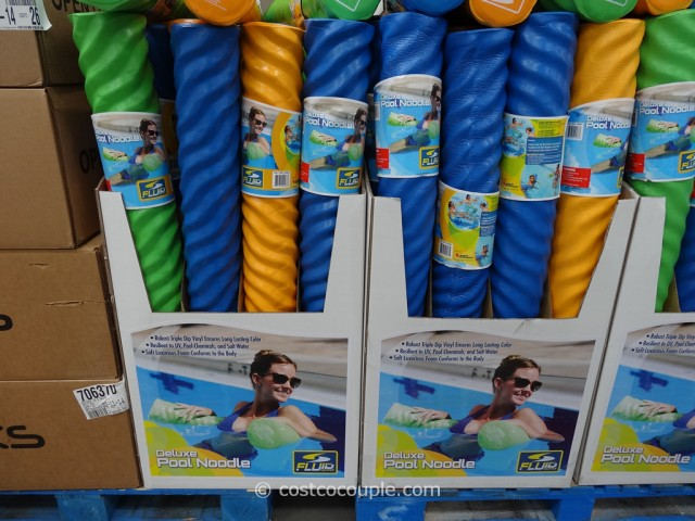 Fluid Aquatics Deluxe Pool Noodle Costco 1