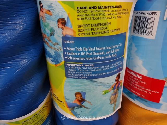 Fluid Aquatics Deluxe Pool Noodle Costco 4