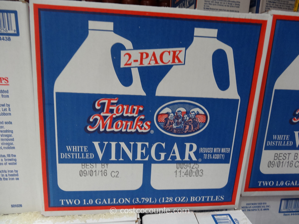 Four Monks White Distilled Vinegar Costco 1