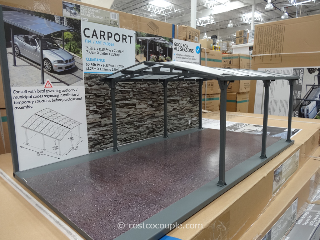 Gazebo Penguin Acay Carport Costco 3 ...