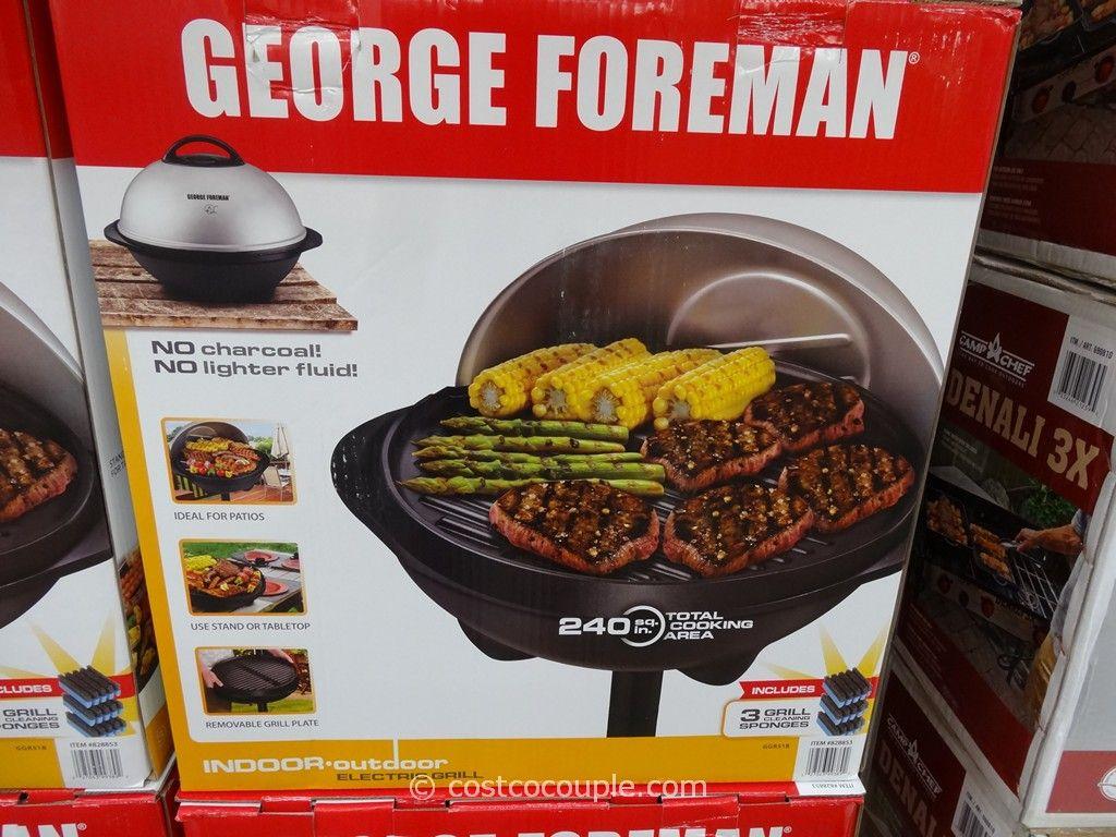 George Foreman Grill GGR51B Costco 2
