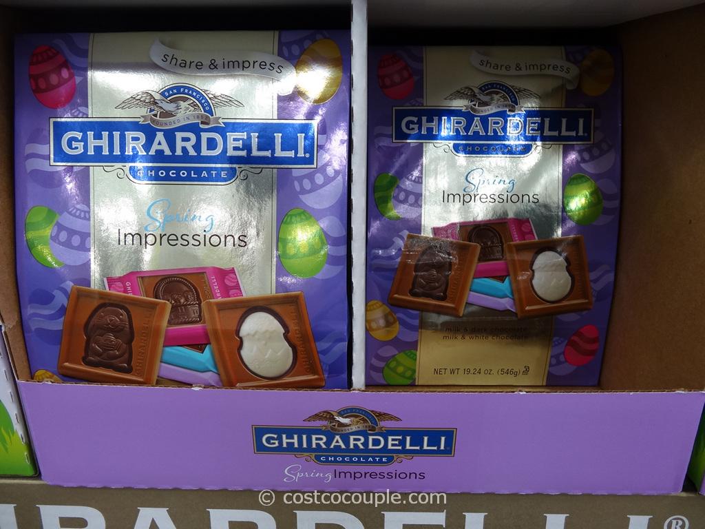 Ghirardelli Holiday Spring Impressions Costco 1
