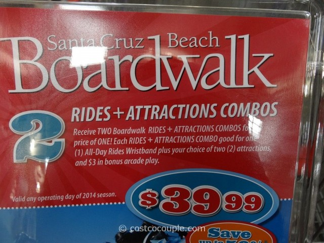 Gift Card Santa Cruz Boardwalk Costco 2
