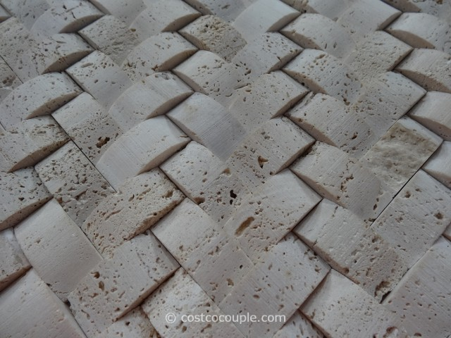 Golden Select Architectural Stone Mosaic Wall Tiles Costco 2