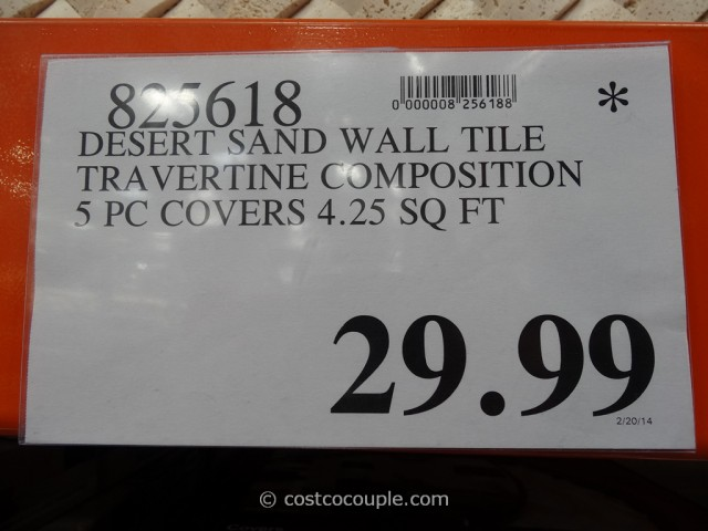 Golden Select Architectural Stone Mosaic Wall Tiles Costco 6