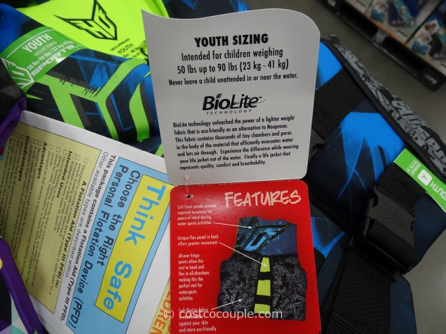 H.O.Sports Youth Life Vest Costco 3