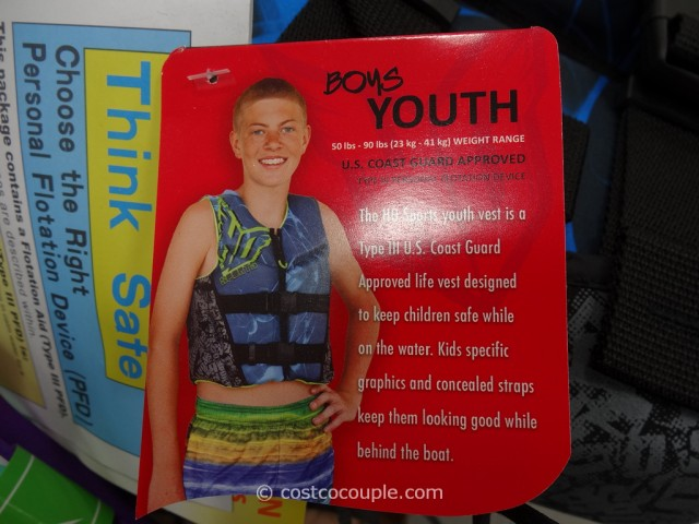 H.O.Sports Youth Life Vest Costco 5