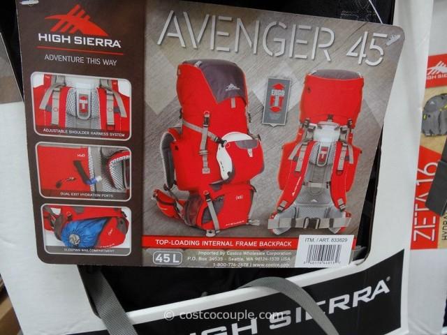 High Sierra Avenger 45L Backpack Costco 3