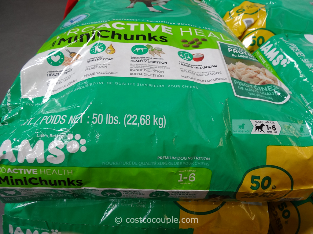 Iams Mini Chunks Dog Food