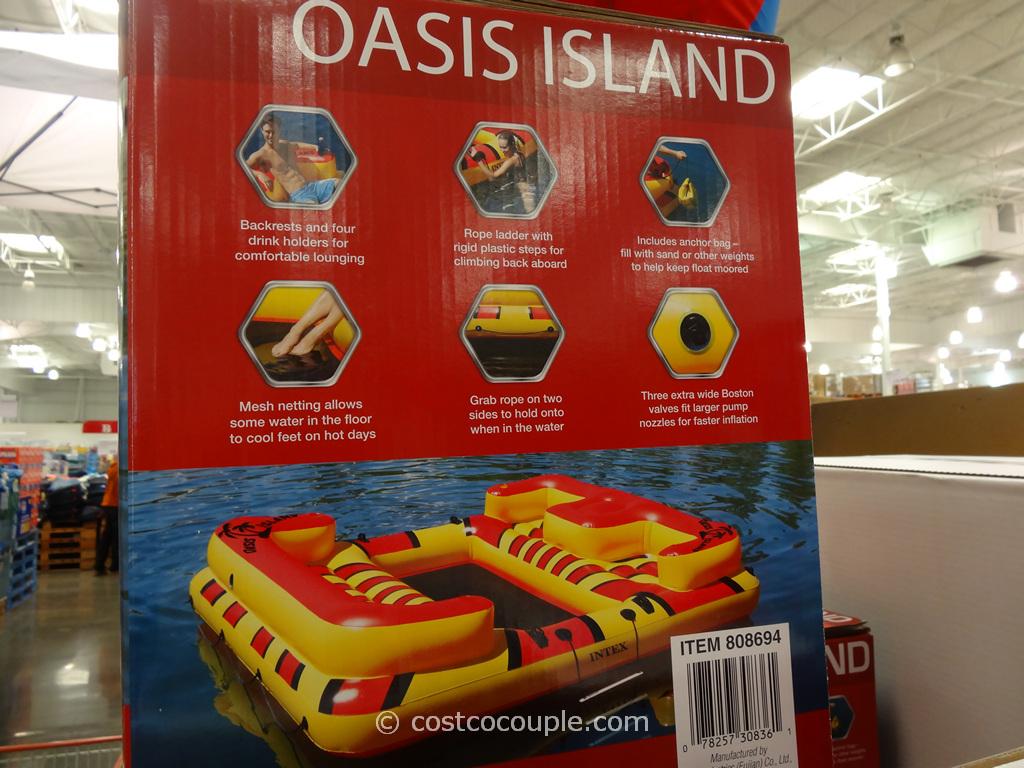 Intex Oasis Island