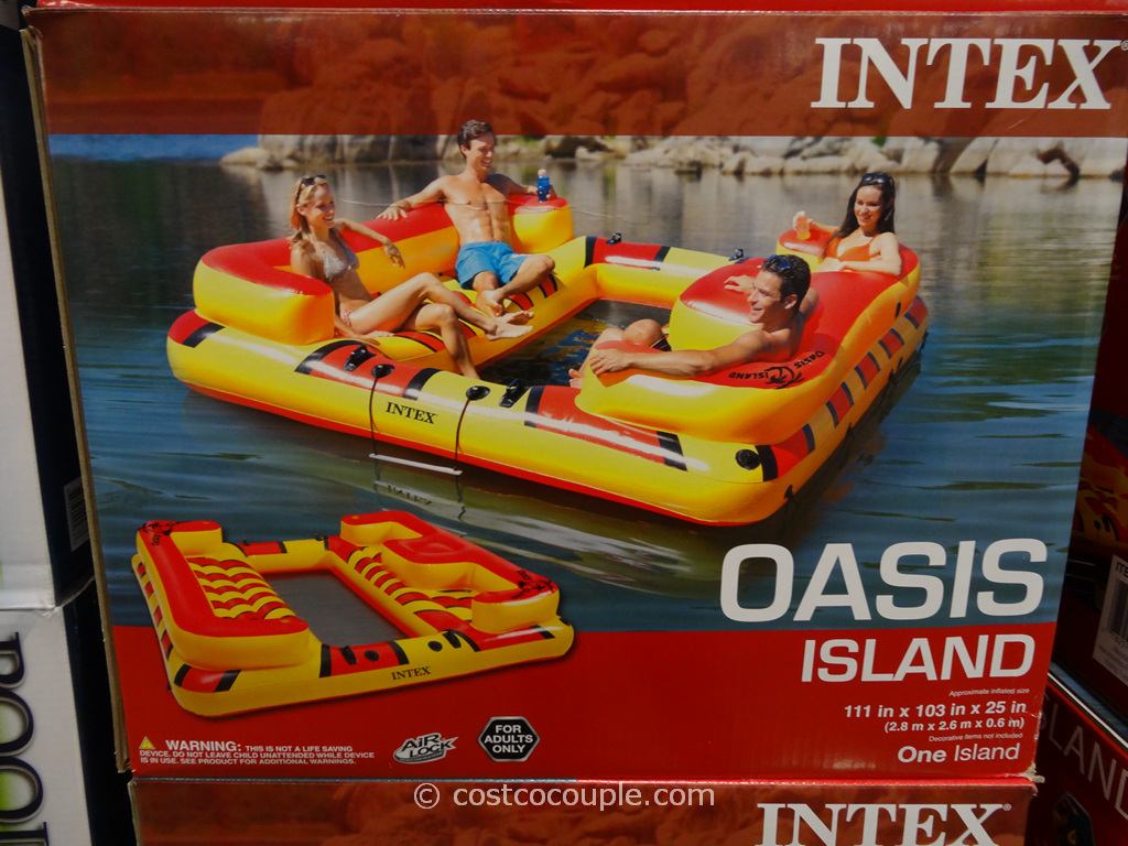 Intex Oasis Island Costco 2