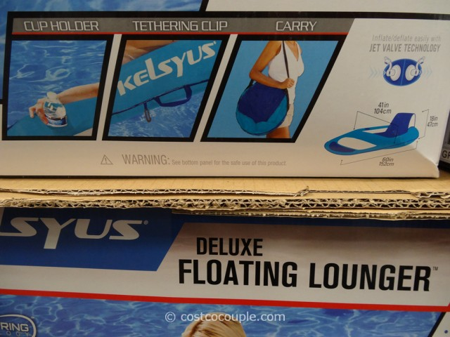Kelsyus Delux Floating Lounger Costco 5