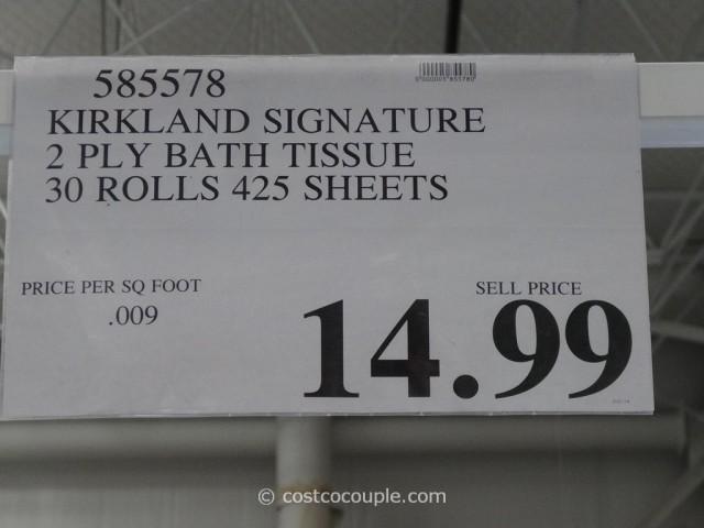 Kirkland Signature Bath Tissue Costco 3