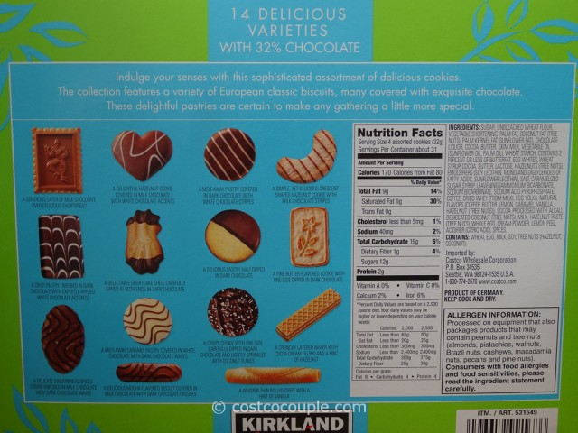 Kirkland Signature European Cookies Costco 2