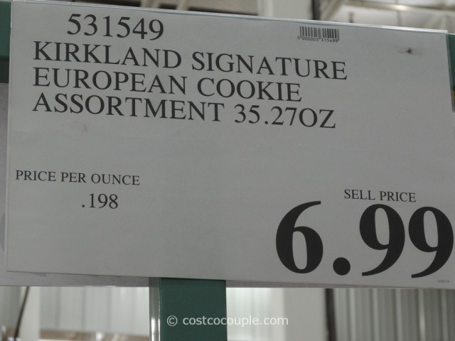 Kirkland Signature European Cookies Costco 3