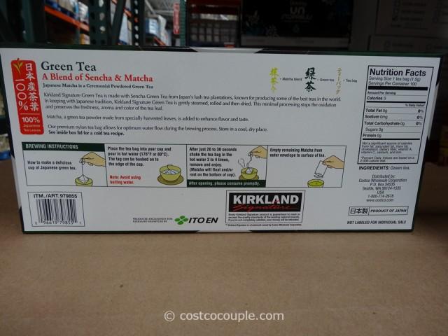 Kirkland Signature Japanese Green Tea Costco 2