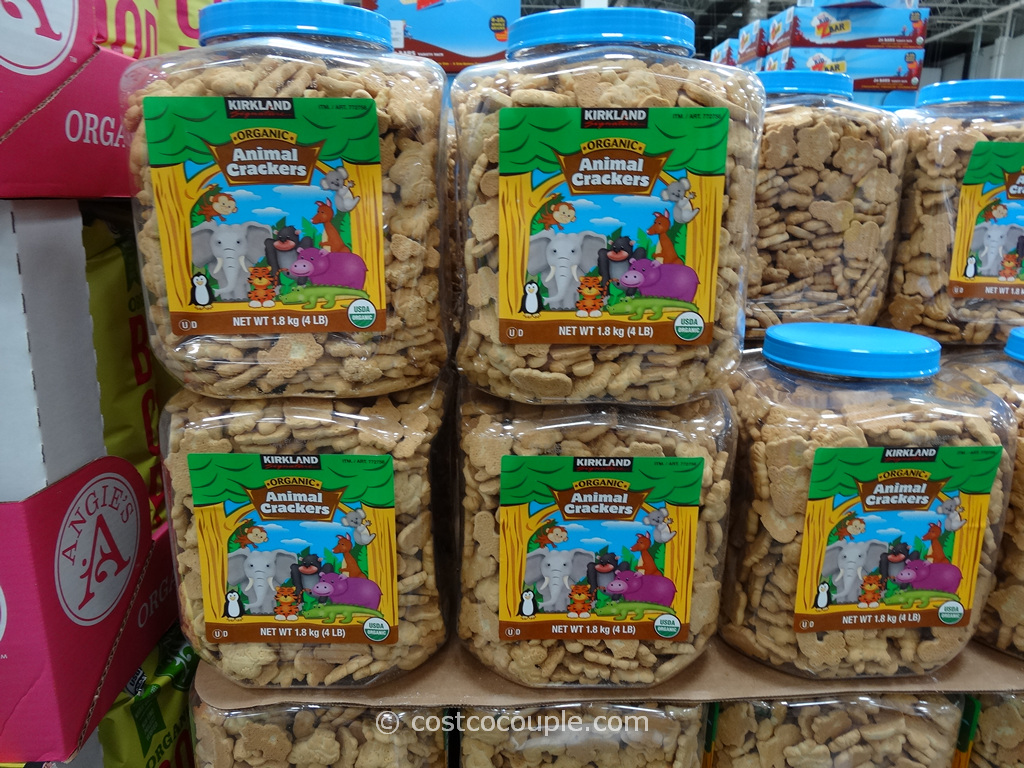 Kirkland Signature Organic Animal Crackers Costco 1