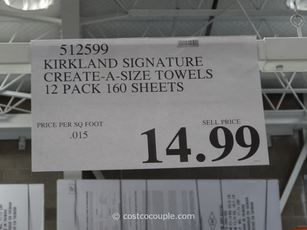 Kirkland Signature Paper Towels Costco 1. Kirkland Signature Paper Towels