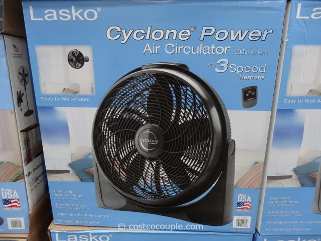 Lasko 20-Inch Cyclone Fan Costco 1
