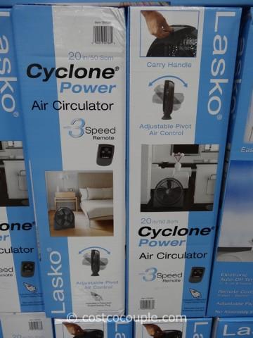 Lasko 20-Inch Cyclone Fan Costco 4