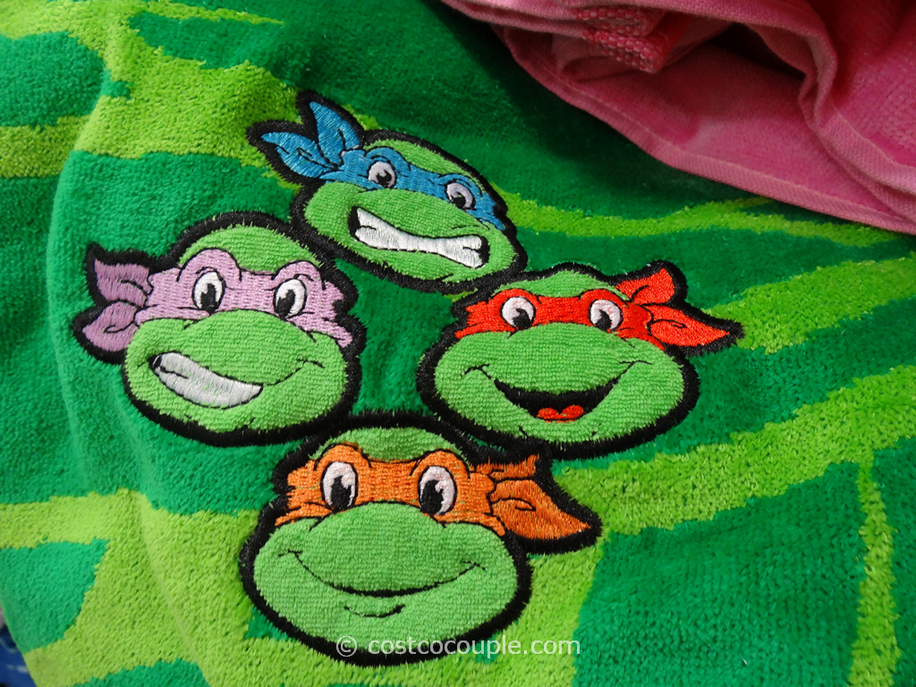 Licensed Embroidered Beach Towels