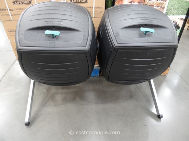 Lifetime Products Dual Composter Model#60072 Costco 2