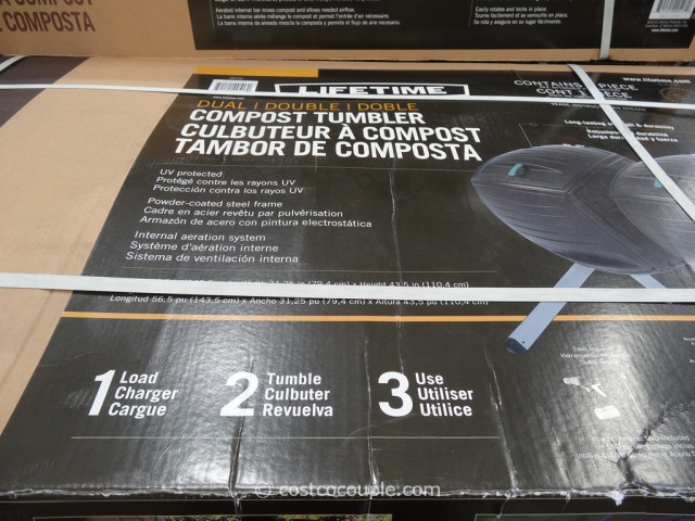 Lifetime Products Dual Composter Model#60072 Costco 5