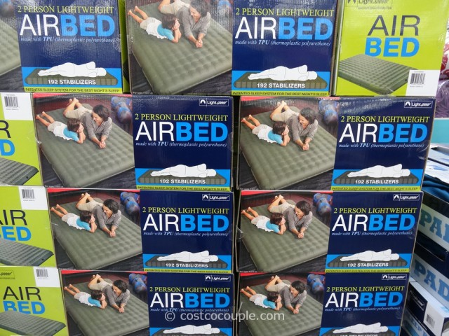 Lightspeed 2Person Lightweight Airbed Costco 1