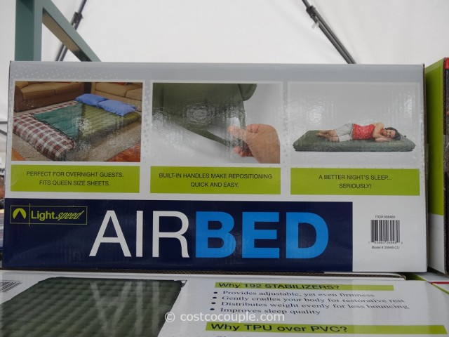 Lightspeed 2Person Lightweight Airbed Costco 2