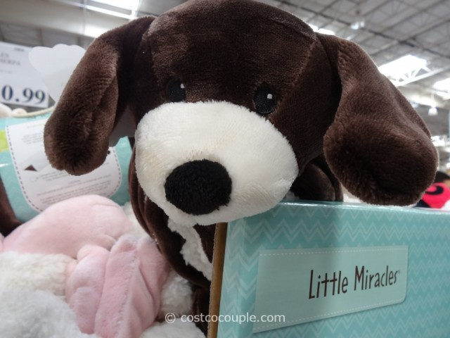 Little Miracles Snuggle Me Sherpa Blanket Costco 2