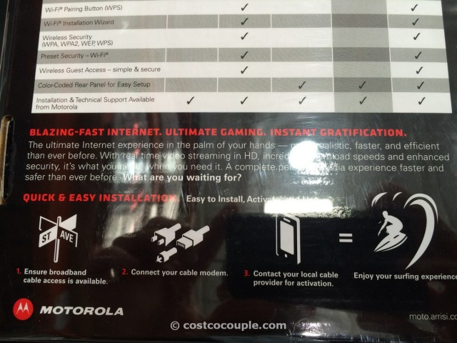 Motorola Surfboard Extreme Cable Modem Costco 5