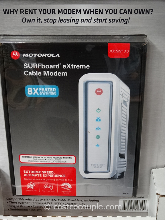 Motorola Surfboard Extreme Cable Modem SB6141 Costco 3