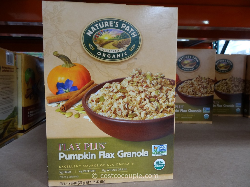 Natures Path Organic Pumpkin Flax Granola Costco 3
