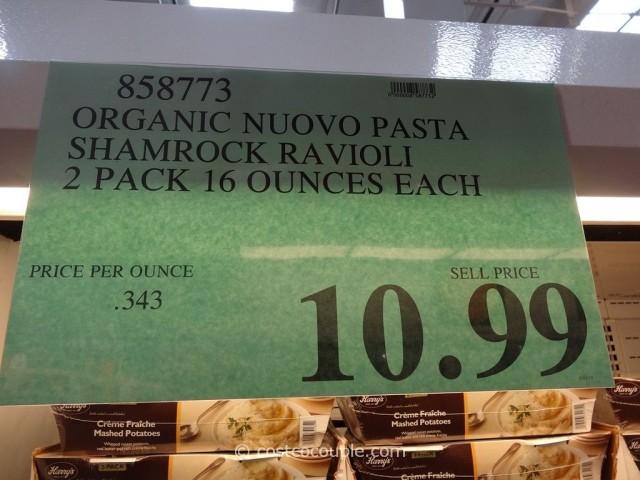 Nuovo Pasta Organic Shamrock Ravioli Costco 3