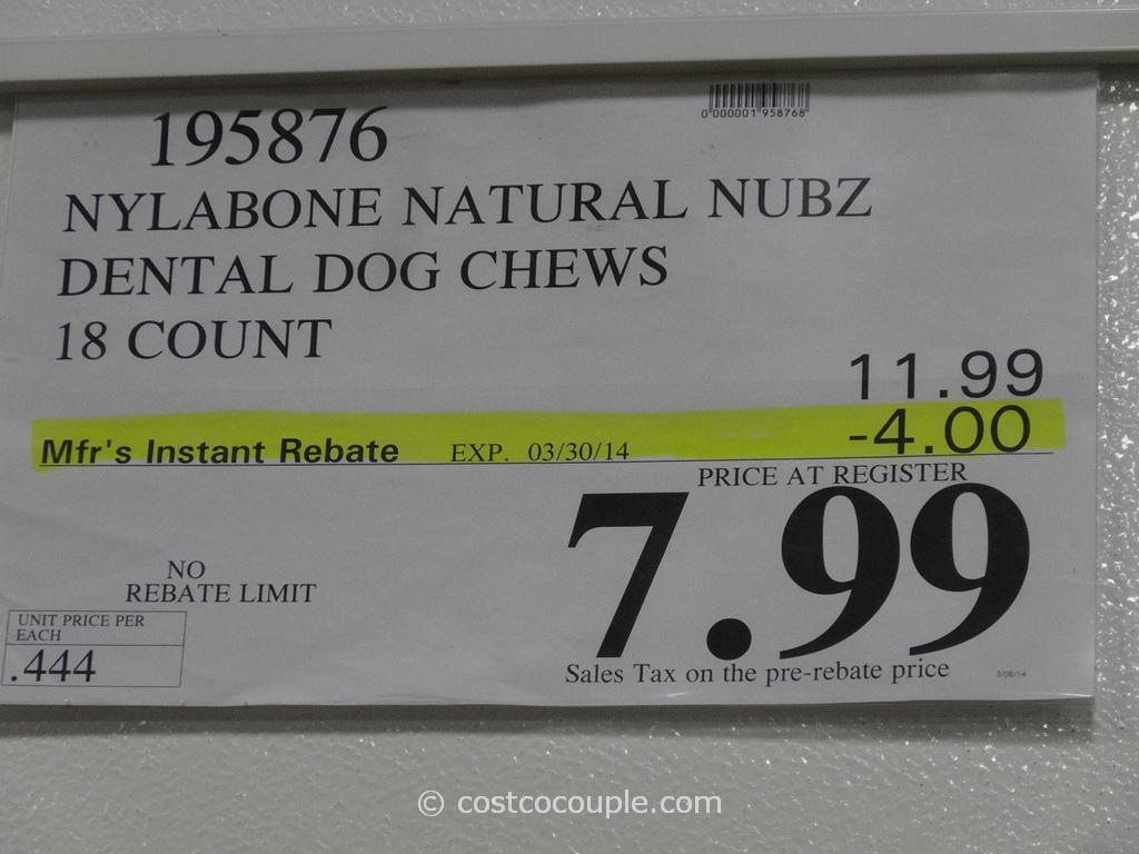 nylabone natural nubz edible dog chews. Black Bedroom Furniture Sets. Home Design Ideas