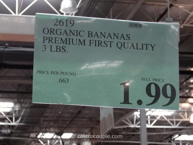 Organic Banana Costco 1